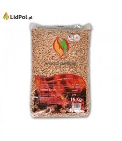 Wood Pellets - Pellet brzozowy Certyfikowany EN A1 plus 975 kg