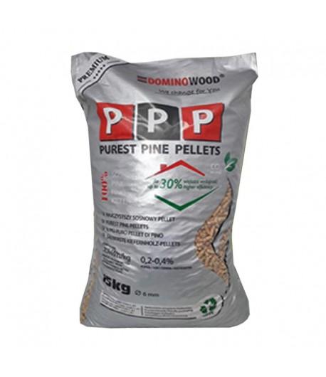 Dominowood PPP - Pellet sosnowy Nr 1 na rynku 975 kg