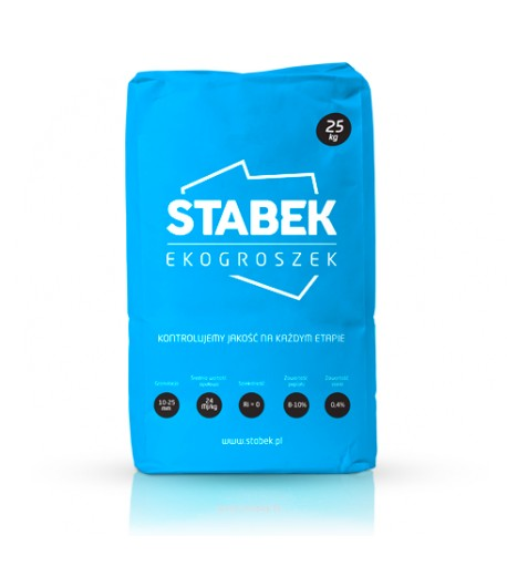 STABEK - Ekogroszek węgiel suchy bez spieków