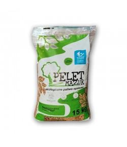 Pellet z Mazur - Pellet z drzew iglastych certyfikowany DIN plus 19,5 MJ/kg