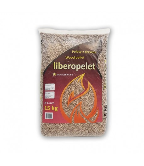 Liberopelet - Pellet z drzew iglastych 18,5 MJ/kg